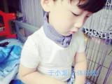 【GMOGM】夏季纯棉透气男女童装简约小白T 刺绣字母短袖圆领童