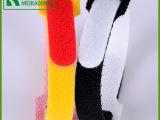 热销魔术贴反扣扎带尼龙魔术贴扎带定做纺织辅料t型魔术贴扎带