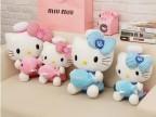 正版hello kitty凯蒂猫公仔毛绒玩具情侣抱枕娃娃 女孩生日礼物