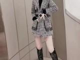高端气质小香风炸街减龄显瘦套装女秋冬名媛两件套