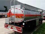 加油車東風多利卡-可包上戶加油車鋁合金半掛油罐車