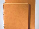 活页PU笔记本/记事本定制 礼品定制 定做本册/记事本 印log