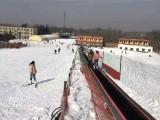 滑雪场景区七彩雪地魔毯云梯安装售后 魔毯厂家