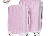 新款KT猫旅行箱20寸登机箱24寸拉杆箱包28寸行李箱子万向轮多色女