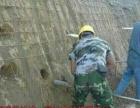 基坑支护边坡喷锚挂网喷浆护坡锚杆锚索土钉墙客土喷播绿化