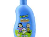 专柜正品SNOOPY史努比洗发水儿童鲜奶蛋白滋养洗发露235ml