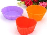 新款 3寸硅胶蛋糕杯 烘焙用具 蔬菜切割 批发 厂家直销