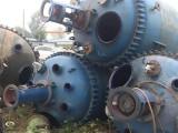 處理二手3噸搪瓷反應釜