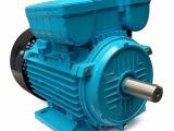 汉霖电机厂家供应YL90-2P单相异步电动机 双直电容立式电机