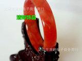 玻璃仿玛瑙手镯 高仿玉 地摊热销货源 加宽加厚 16mm 中老年