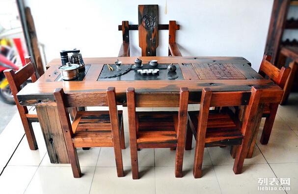 苏州老船木家具船木茶几茶桌茶台大促销,款式新颖,价格低