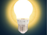 钜豪超亮l室内LED球泡E27螺口灯泡3W照明小灯泡E27A14