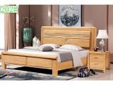 实木床1.8米双人床主卧室大床经济型橡木床婚床