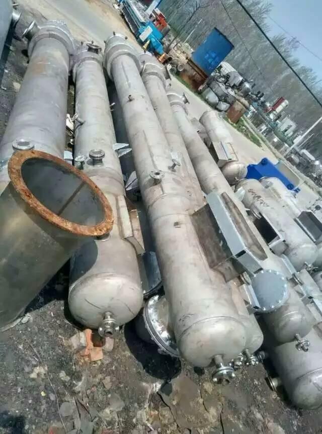 处理闲置5吨三效降膜蒸发器