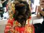 新娘盘头化妆,圆锁妆,舞台妆,生活妆