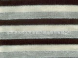 供应人棉银丝彩条汗布