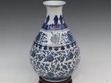 景德镇陶瓷工艺品摆件 创意花瓶 青花瓷系列礼品 中国风现代时尚