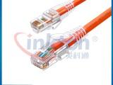 英科通超五类非屏蔽网络跳线0.5米1米1.5米2米3米5米
