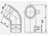 PE管件 全新料 DN20-DN1600 弯头 三通 直通