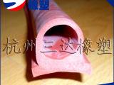 批量生产 福建耐高温耐磨硅胶条 福建耐300度各式硅胶条