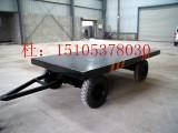 厂家直销工业用尾板牵引平板拖车 牵引平板拖车尾板牵引平板车