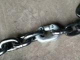 河北廠家生產鏈條連接器-不銹鋼雙抱扣-M8馬蹄環