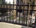 制作各种pvc护栏塑钢护栏铁艺门别墅围墙