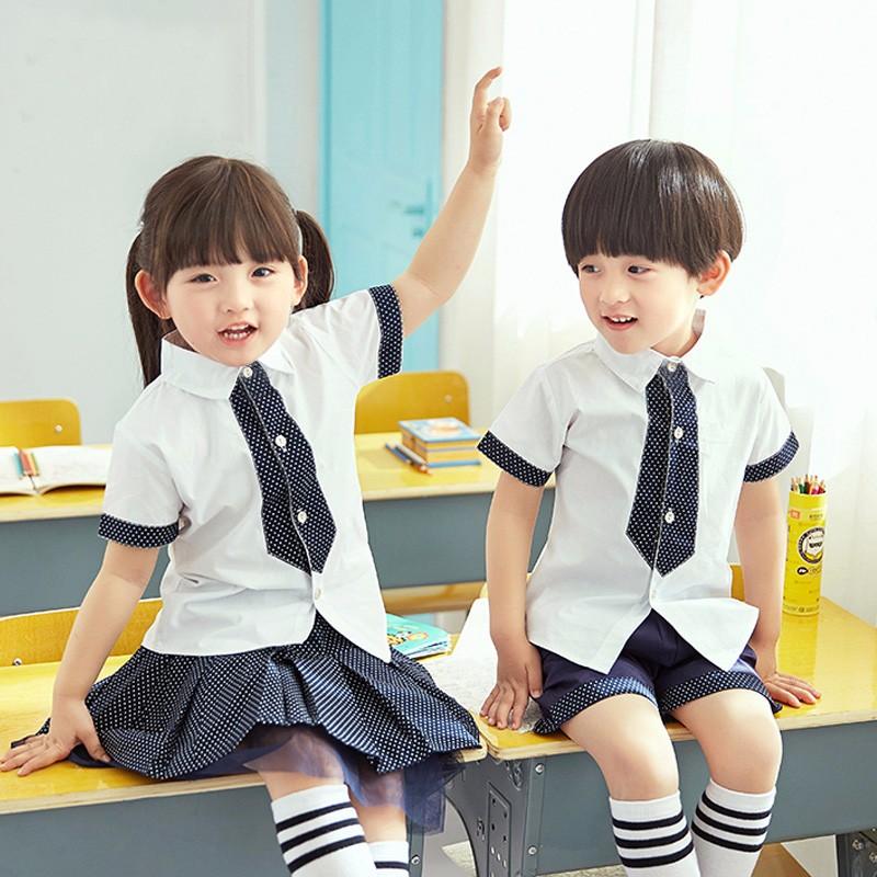 青岛校服定制厂家园服班服表演服订做国梦童装
