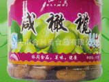 合利美厂家直销 咸橄榄425g*12瓶/箱 潮汕特产蜜饯休闲食品