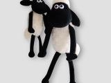 SM肖恩羊毛绒公仔 小羊肖恩 动画卡通毛绒玩具 儿童玩具