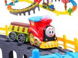 电动儿童火车 男孩玩具 托马斯小火车套装 轨道火车