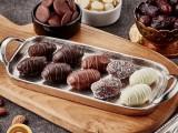 漂洋过海的海外进口食品 迪拜果仁夹心巧克力