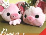 厂家直供 日本动漫周边 piggygirl 皇冠小猪公交卡套 小