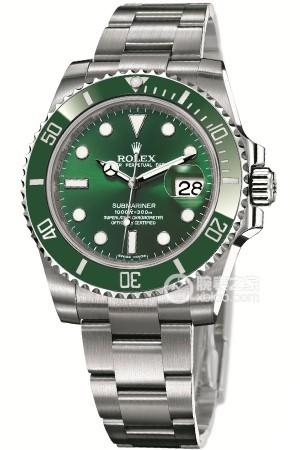 高仿奢侈品名表一比一高端复刻劳力士潜航者型系列绿鬼