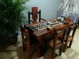 厂家直销老船木茶桌椅组合实木仿古船木功夫茶艺桌