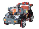 502569 勇士战车四通遥控儿童汽车可充电军绿色 遥控坐人童车