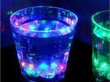 厂家直销LED发光杯七彩杯 感应杯 礼品杯 变色杯 创意酒杯 发