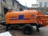 厦门同安大型地泵车,小型细石地泵车混泥土输送地泵出租出售租赁