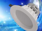全国销量领先 LED一体筒灯4寸12W贴片仿飞压铸筒灯配件筒灯外