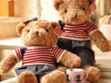 热销玩具情人节毛绒玩具批发林嘉欣熊大抱抱熊泰迪熊毛衣熊布娃娃