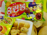 韩国进口食品批发 海太巧克力泡芙球 办公室必备46g*30袋/箱