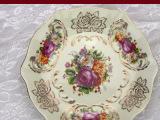 象牙瓷6-12寸六角盘/挂盘瓷盘陶瓷盘子陶瓷蛋糕盘欧式装饰盘饭盘