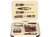 圣德保罗 33件套家用工具套装 含螺丝刀电笔卷尺工具箱SD-66
