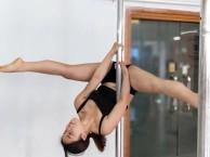 广安聚星钢管舞培训 0基础钢管舞专业培训班