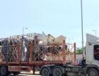 珠海到澳门货运,澳门平板拖车12米长2.4米宽