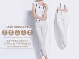 厂家直销 2015夏季新款大码女装九分裤  欧美时尚铅笔裤小脚女