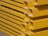 批发工业FRP方管 拉挤玻璃钢方管密度高材质轻寿命长