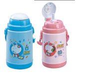 振兴保暖学生水壶/儿童水壶/吸管水杯/背带水壶双层SH422    1719