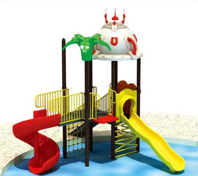 金米奇康体打造一站式的水上乐园滑梯服务产品及理念