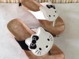 2014新款卡通平底夹子拖鞋时尚休闲女凉鞋软底女鞋拼色女拖鞋